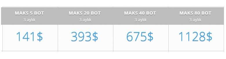 arbitraj robotu fiyatları